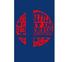Settle It In Smash funny nerd geek geeky Photographic Print