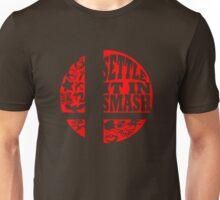 Settle It In Smash funny nerd geek geeky Unisex T-Shirt