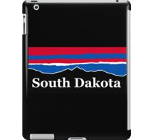 South Dakota Red White and Blue iPad Case/Skin