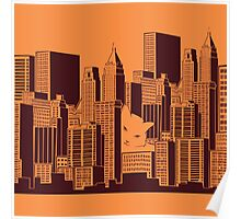 Cat in the Big City Poster