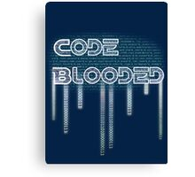 Code Blooded Canvas Print