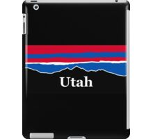 Utah Red White and Blue iPad Case/Skin