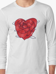 Heart rose Long Sleeve T-Shirt
