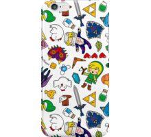 Cute Legend of Zelda pattern!!! iPhone Case/Skin
