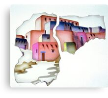 Pueblo Deco Canvas Print