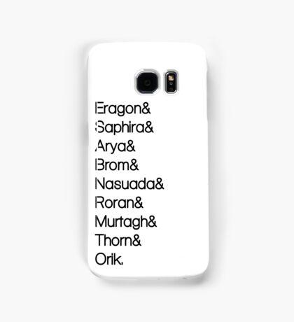 Character List Eragon Samsung Galaxy Case/Skin