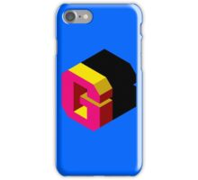 Letter G Isometric Graphic iPhone Case/Skin