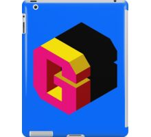 Letter G Isometric Graphic iPad Case/Skin
