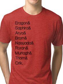Character List Eragon Tri-blend T-Shirt