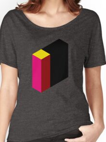 Letter I Isometric Graphic Women's Relaxed Fit T-Shirt
