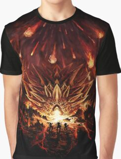 Chrono Trigger: Fire Rains from the Heavens [Chronicles of Time] Graphic T-Shirt
