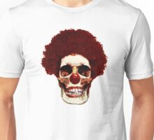 Clown Skull Unisex T-Shirt