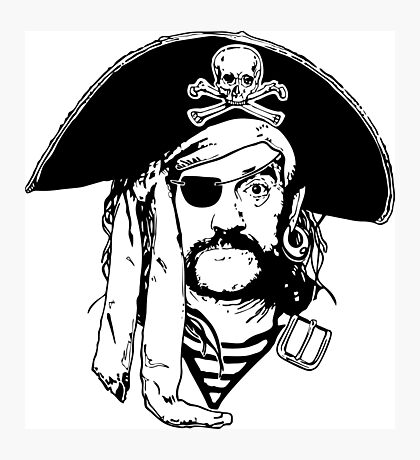 Pirates of Lemmy Photographic Print