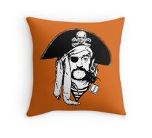 Pirates of Lemmy Throw Pillow