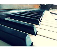 Sunshine Piano Photographic Print