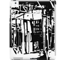 Trash City Black and White Design iPad Case/Skin
