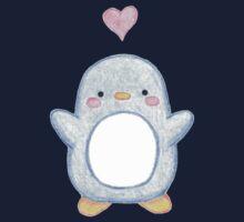 Sweet Little Penguin  One Piece - Short Sleeve