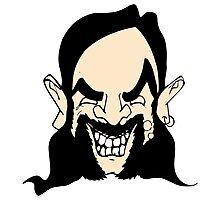 Cartoon Lemmy Photographic Print