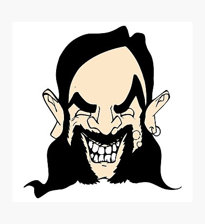 Cartoon Lemmy Photographic Print
