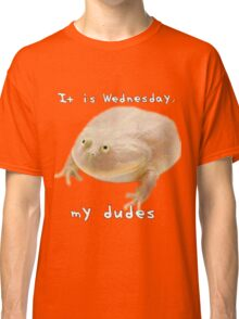 It is Wednesday my dudes Classic T-Shirt