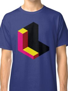 Letter L Isometric Graphic Classic T-Shirt