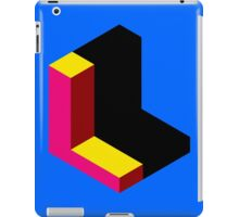 Letter L Isometric Graphic iPad Case/Skin