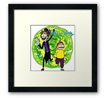 Wah and Warty Framed Print