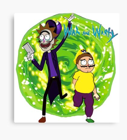 Wah and Warty Canvas Print