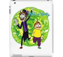 Wah and Warty iPad Case/Skin