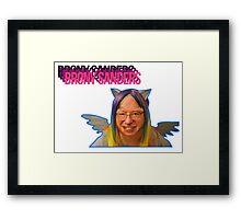 Brony Sanders Framed Print