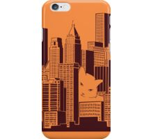 Cat in the Big City iPhone Case/Skin