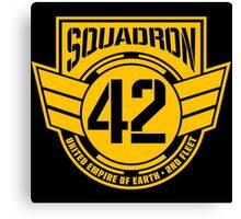 Squadron 42 Canvas Print