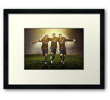 Trio MSN Barcelona Framed Print
