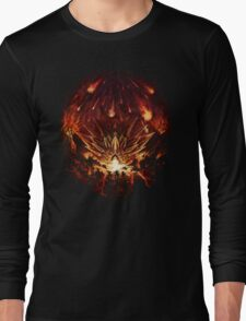 Chrono Trigger: Fire Rains from the Heavens [Chronicles of Time] Long Sleeve T-Shirt