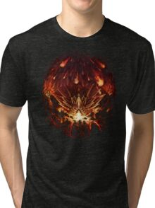 Chrono Trigger: Fire Rains from the Heavens [Chronicles of Time] Tri-blend T-Shirt