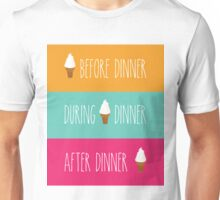 Ice Cream Dinner Unisex T-Shirt