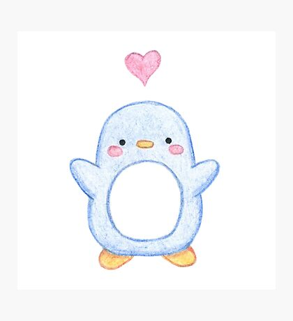 Sweet Little Penguin  Photographic Print