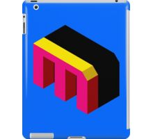 Letter M Isometric Graphic iPad Case/Skin