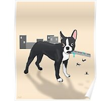 Attack of the Colossal Boston Terrier!!! Poster