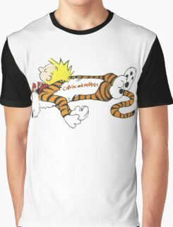 Calvin And Hobbes Sleep Graphic T-Shirt
