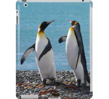 King penguin duo iPad Case/Skin