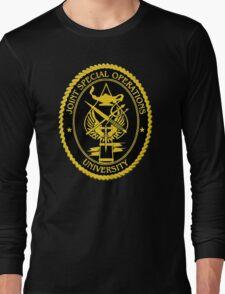 Joint Special Operations University Emblem Long Sleeve T-Shirt