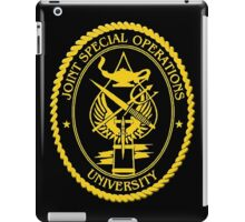 Joint Special Operations University Emblem iPad Case/Skin