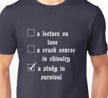 The School of Parrish (White) Unisex T-Shirt