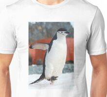 Penguin on the move Unisex T-Shirt