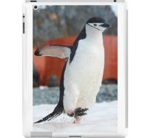 Penguin on the move iPad Case/Skin