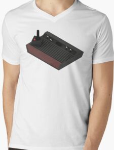 Atari 2600 Console - Isometric Mens V-Neck T-Shirt
