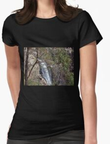 Through the Trees  Womens Fitted T-Shirt