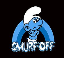Smurf Off! by Grouchy Smurf by G. Patrick Colvin