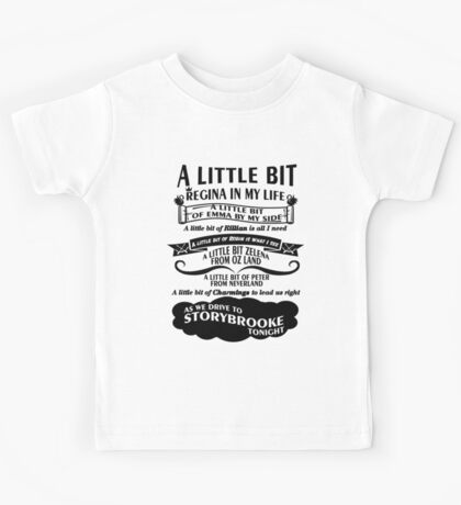 Oncer Song. OUAT Song. Kids Tee
